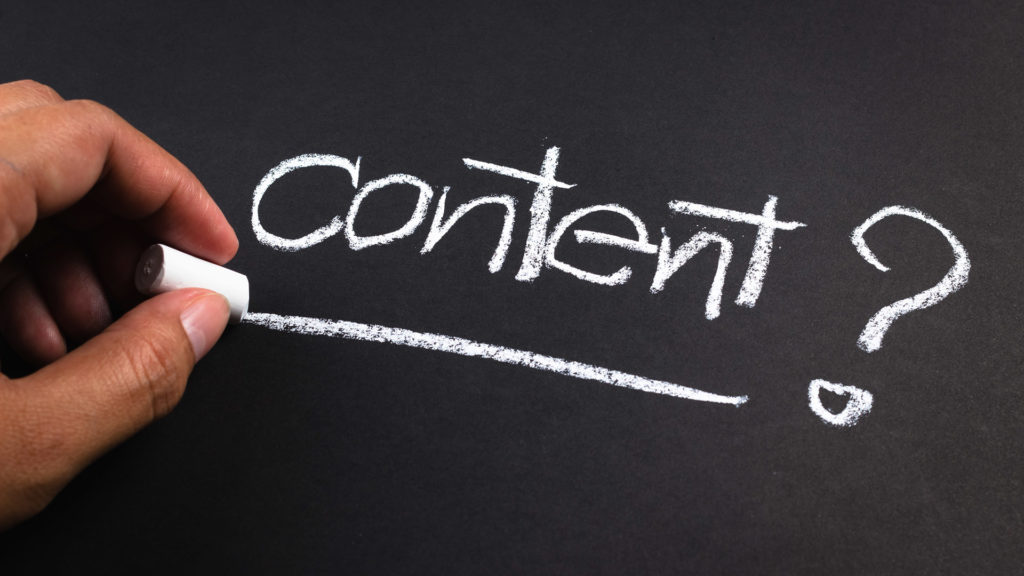 Creating Website Content For SEO